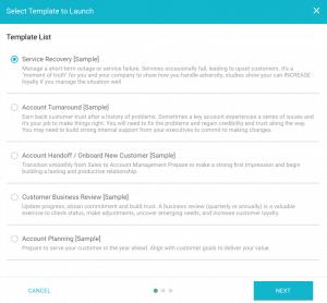 Kapta account management customer success playbook