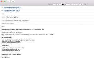 Kapta email integration