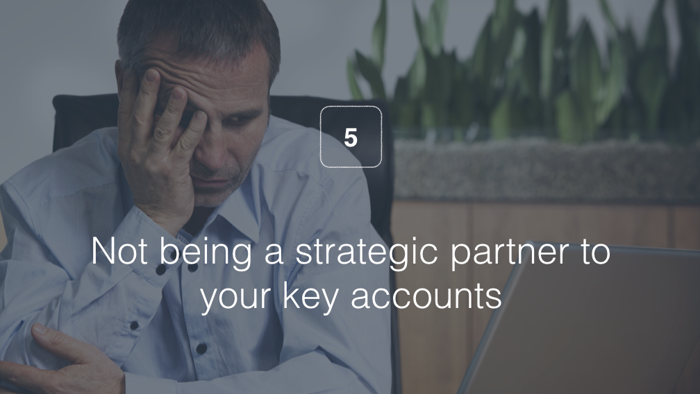5) Being a Vendor — Not a Partner