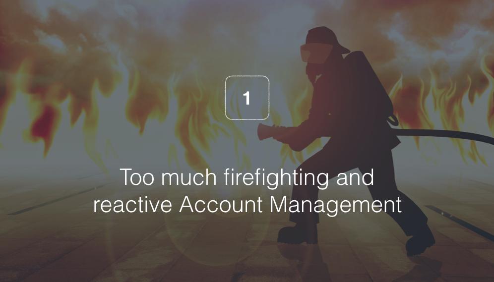 Being Reactive — Not Proactive